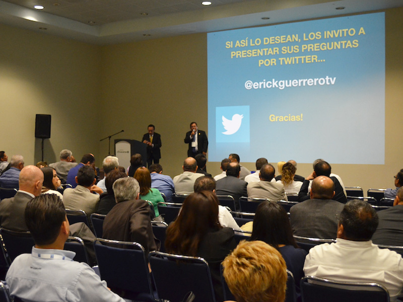 Erick Guerrero Conference